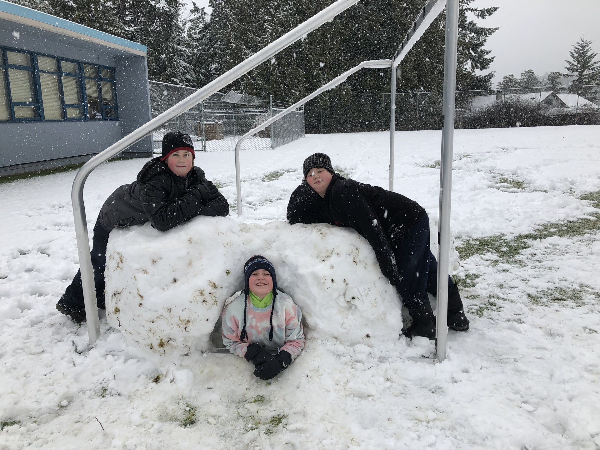 More Snow Day Fun at Texada Elementary