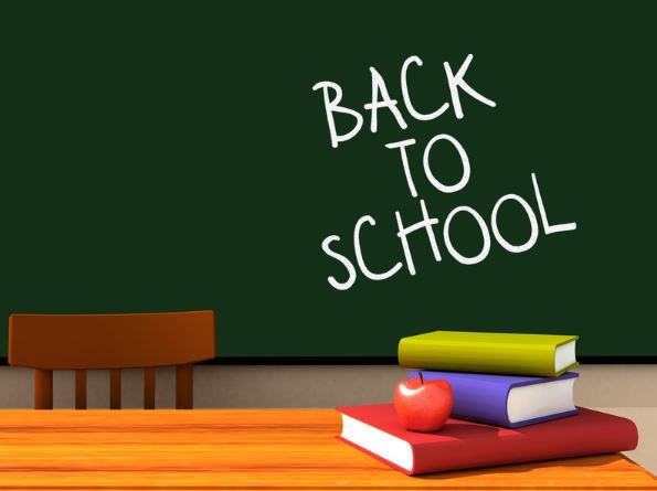 Back to School Information for all Students