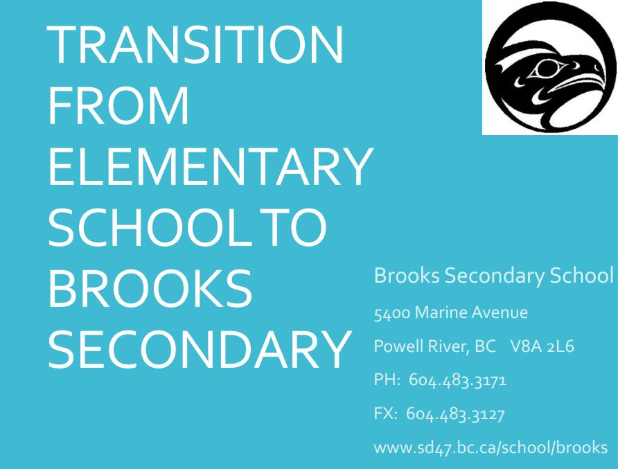 Transitioning to Brooks in 2015-2016