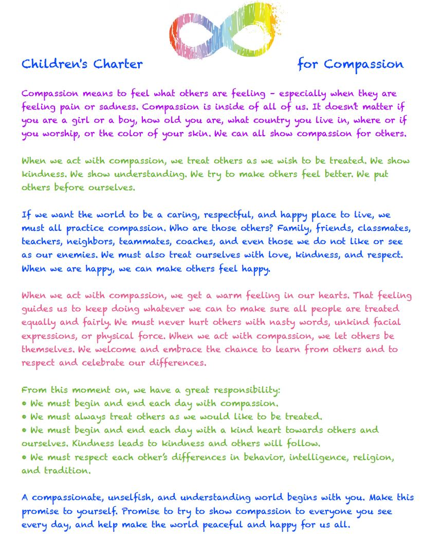 children's charter for compassion - powell river board of education